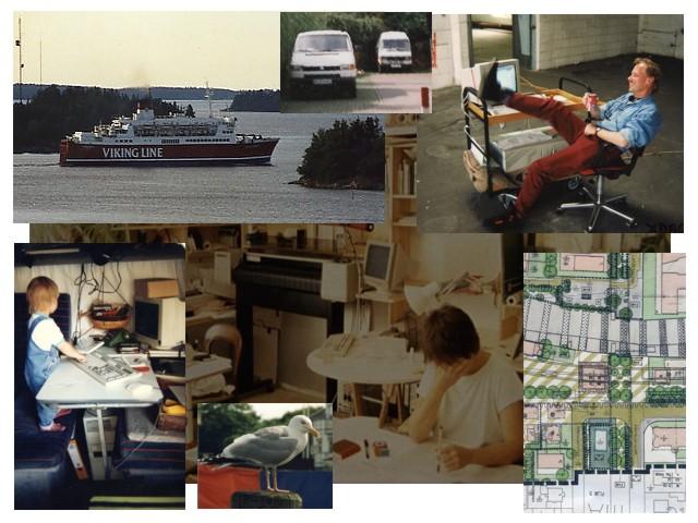 Bild 2: Reise nach Finnland - Planungs- u.CAD-Zeichenbüro - Mobiles Vermessungsmobil - Nachwuchs: